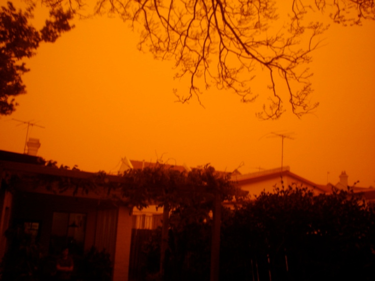 Dust Storm Morning