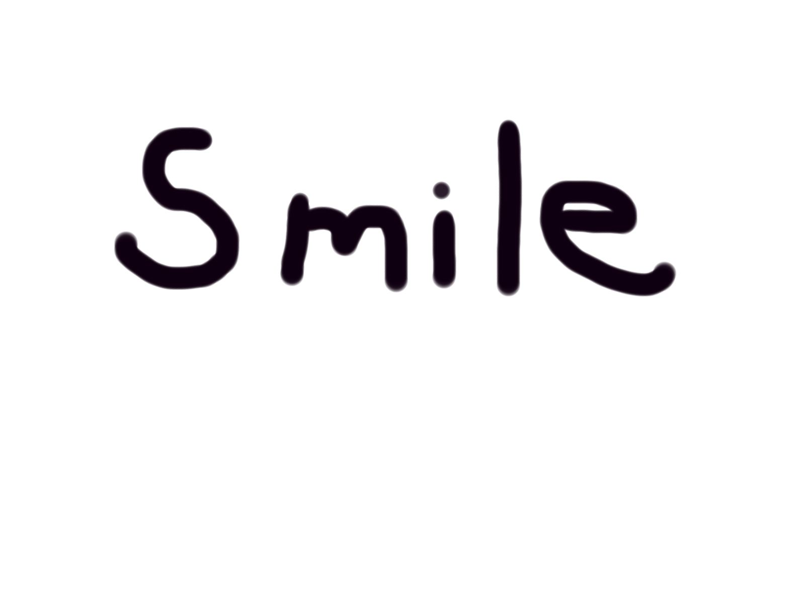 Smile the word   The Word Smile