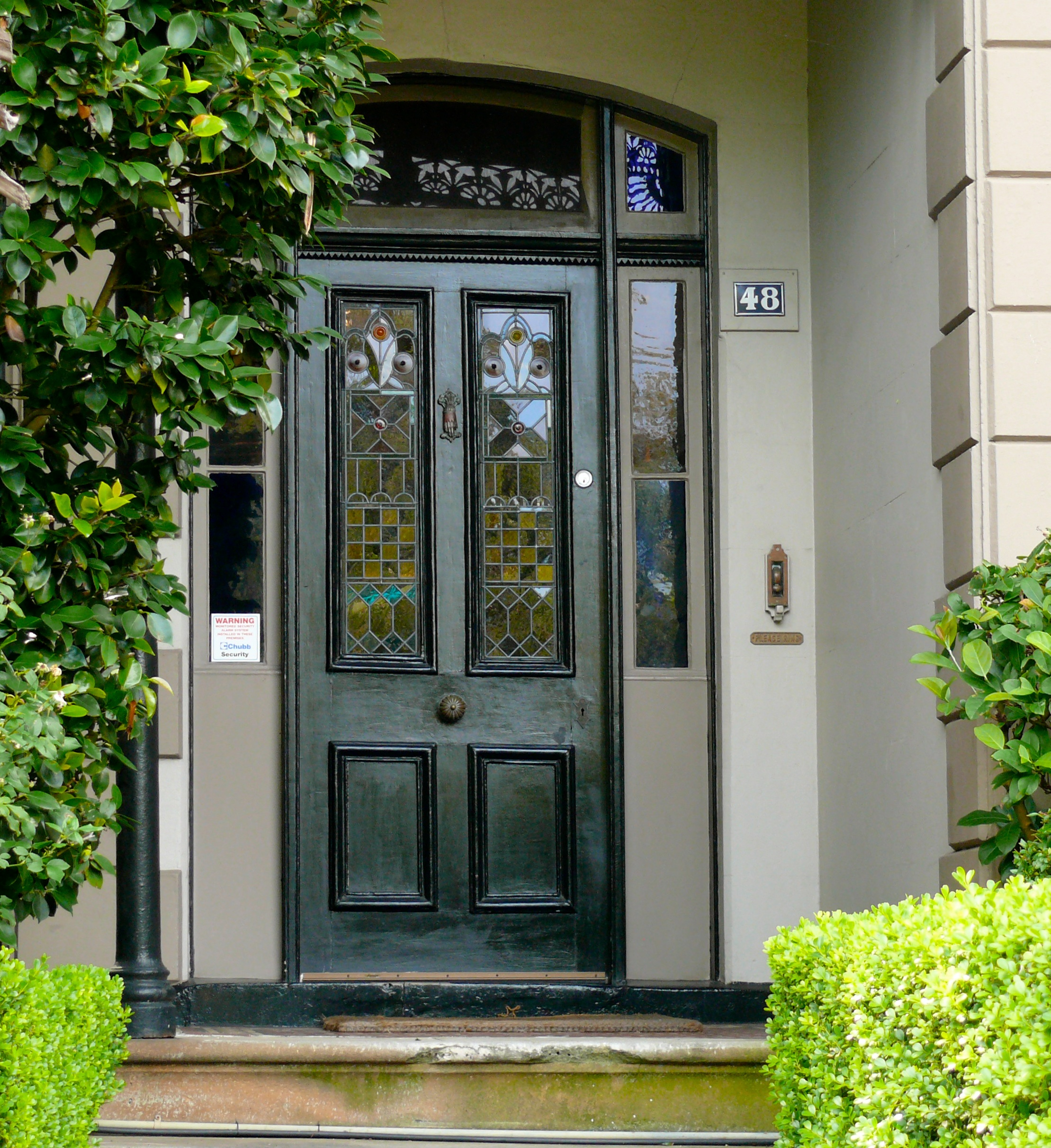 Green Front Doors: Behind The Green (And Other) Doors